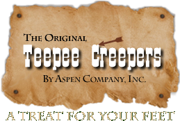 The Original Teepee Creepers - Sheepskin Moccasins