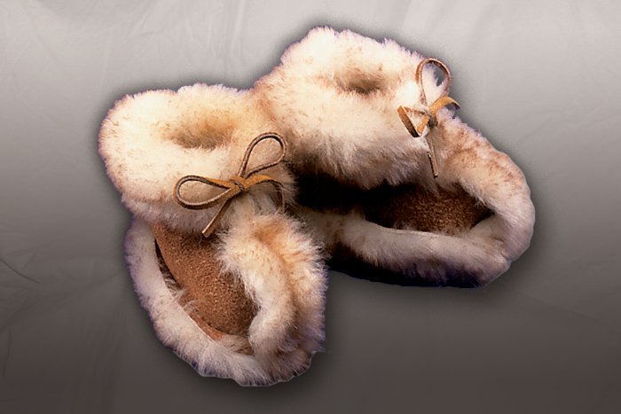 Moccasin Baby Booties - Tiny Teepee Creepers
